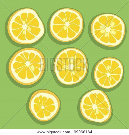 Lemon Lime Orange Grapefruit Slices