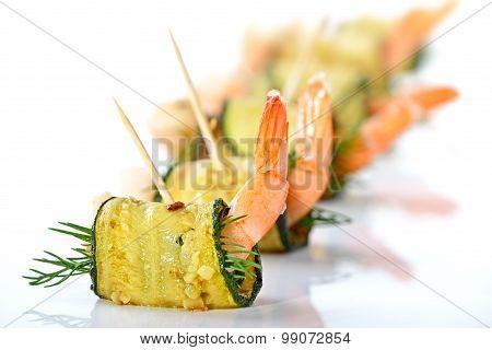 Prawn appetizers