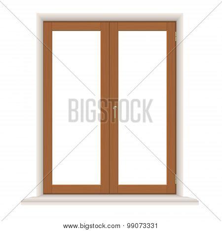 Simple Wooden Window