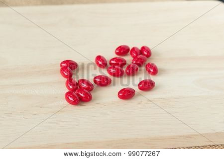 Red Medicine Pills