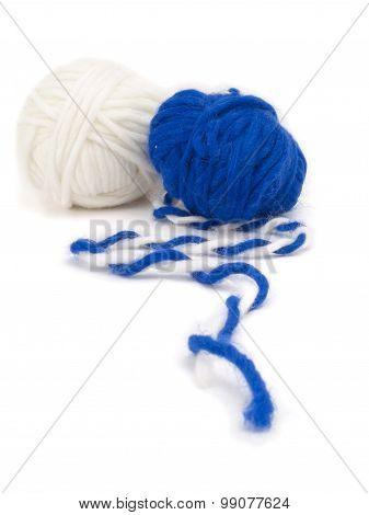 Two Yarn Balls