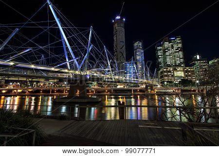 Kurilpa pedestrian bridge, Brisbane