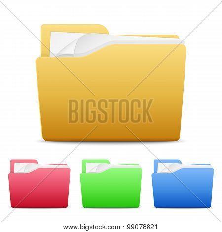 File Folders Icons