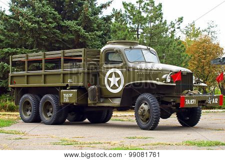 Gmc Cckw 353 Flatbed Truck Us Army.