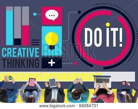 Do it Goal Business Improvement Challenge Concept