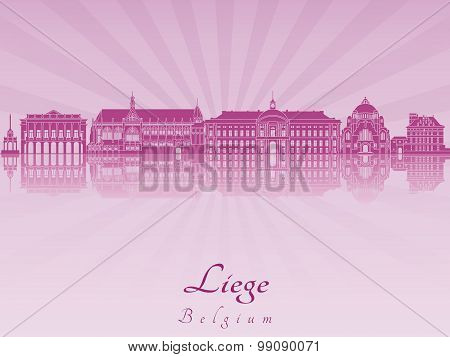 Liege Skyline In Purple Radiant Orchid