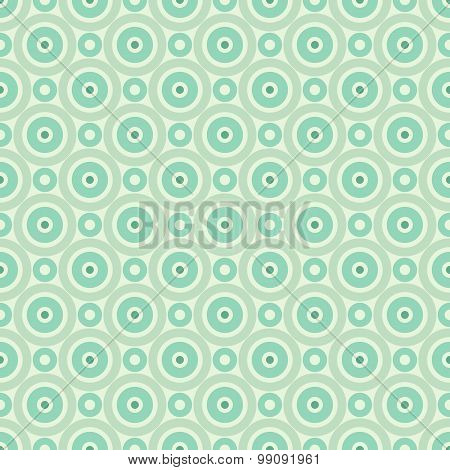 Retro mint different vector seamless patterns