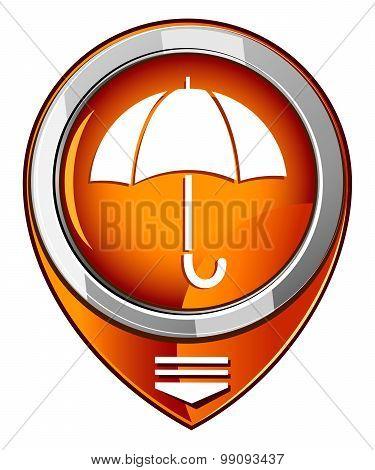 Umbrella - Orange Pointer