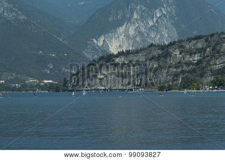 Torbole. Lake Garda, Italy.
