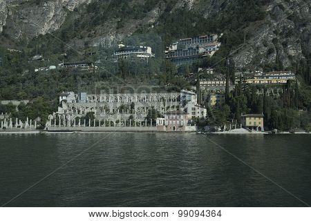 Limone sul Garda . Lake Garda. Italy