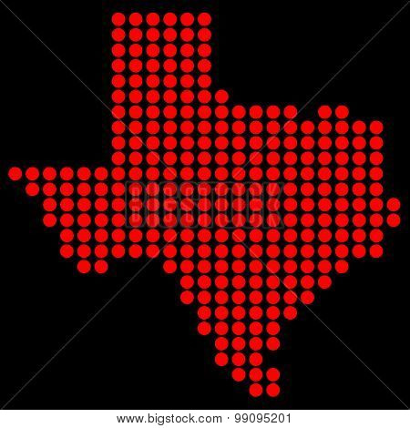 Texas In Dots