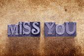 Постер, плакат: Miss You