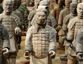 picture of qin dynasty  - The Tomb Warrior Statues of the Chinese Qin Dynasty protect their emperors - JPG