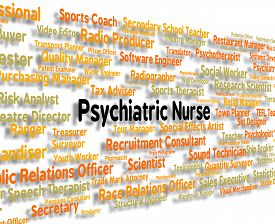 pic of matron  - Psychiatric Nurse Showing Nervous Breakdown And Jobs - JPG