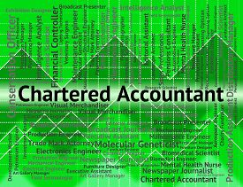 pic of cpa  - Chartered Accountant Representing Balancing The Books And Cpa Occupations - JPG