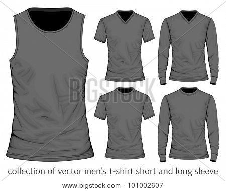 Men's t-shirt. Vector illustration.