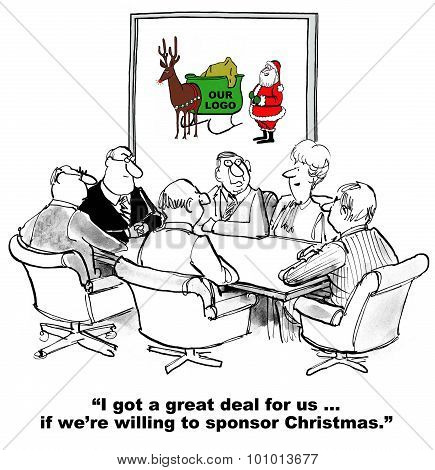 Sponsor Santa Claus