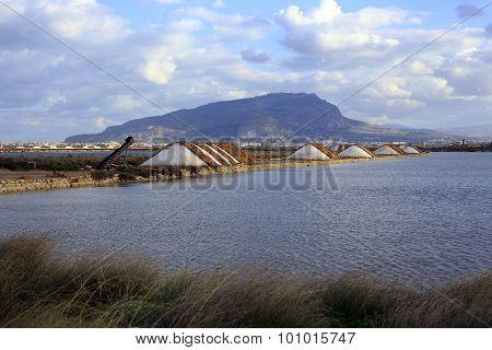 Salt Production In Sicily