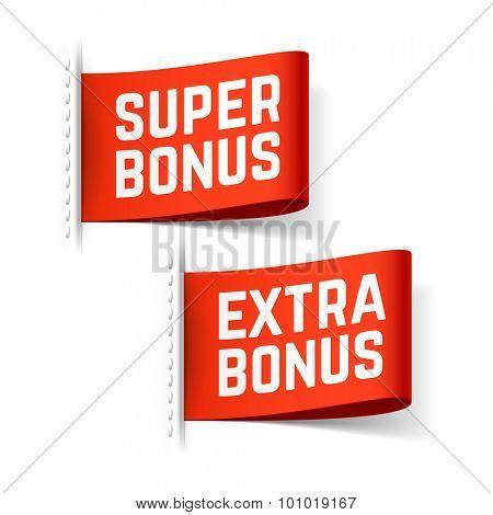 Super and extra bonus label