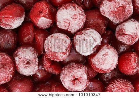 Frozen Red Cherry