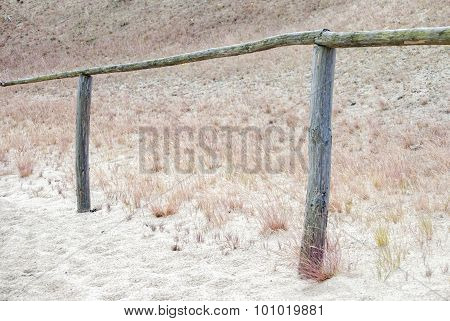 Pathway through dunes