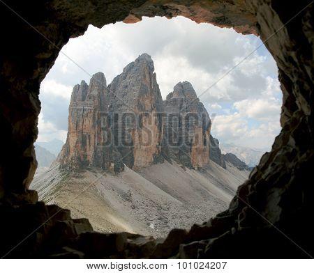 Drei Zinnen Or Tre Cime Di Lavaredo Dolomiten Mountains
