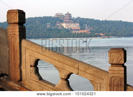 View From The Summer Palace, Beijing, China