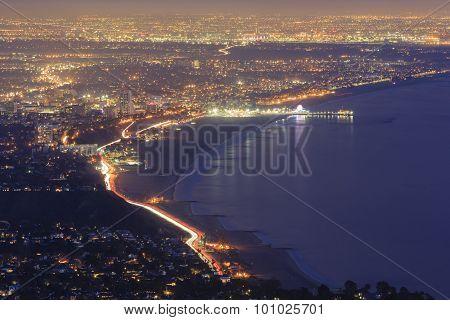 Santa Monica Bay From Top