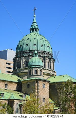 Dome of the Cathedral-Basilica of Mary, Queen of the World