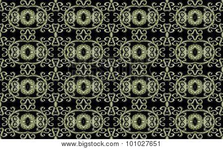 Modern Baroque Seamless Pattern