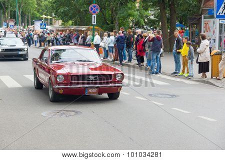 American Spirit Pearl Rally 2015 In Palanga