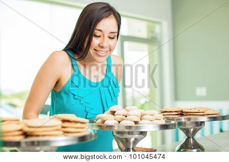 Buying Cookies In A Coffee Shop