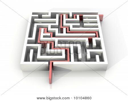 Labyrinth Path