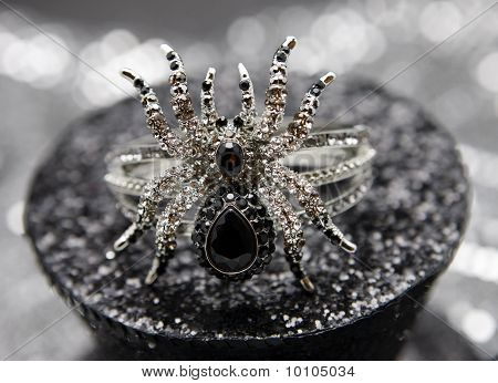 Black Spider Jewel