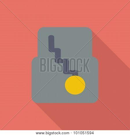 Icon automatic gear.