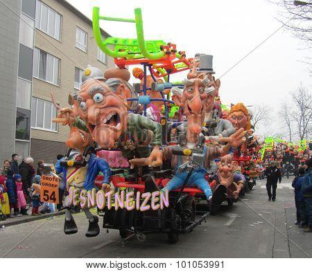 Carnival Float Aalst 2015
