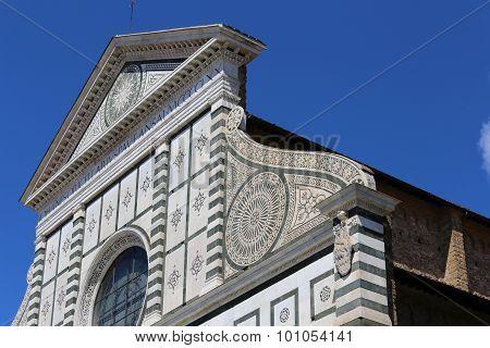 Florence Italy Church Called Santa Maria Novella