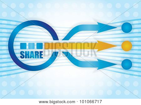 Share Concept.