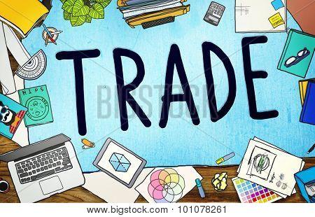 Trade Commerce Exchange Negotiation Economic Concept