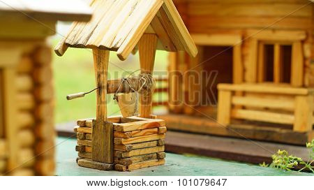 Miniature of the wooden house