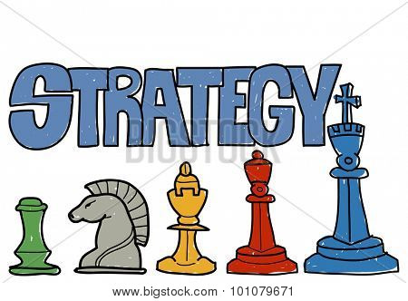Strategy Thinking Planning Objective Goal Business Concept