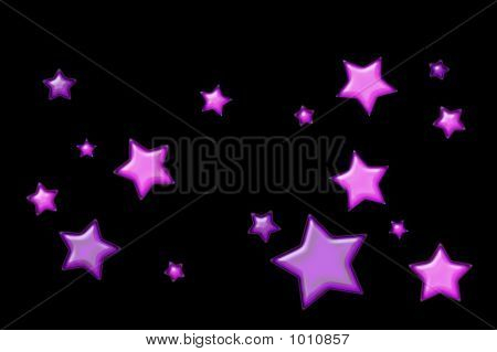 Pink And Purple Stars