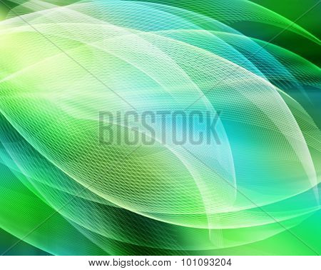 Abstract green background rich colors, beautiful, soft blurred colored rainbow