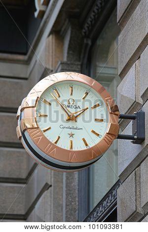 Omega Clock
