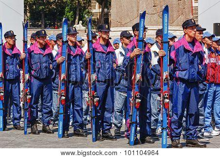 Alpine Police Italian