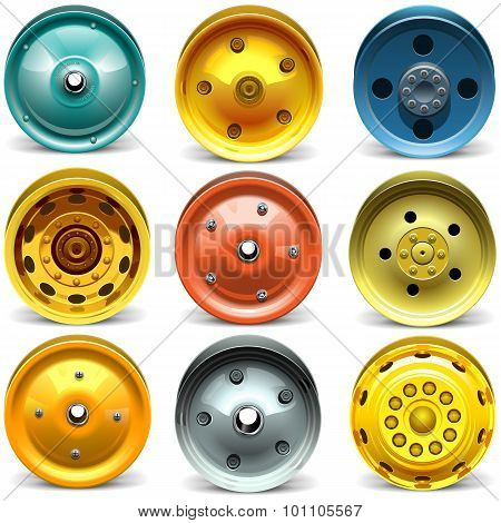 Vector Wheel Disk Set