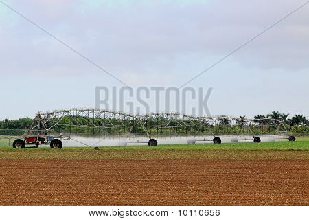 Irrigation Farm Land
