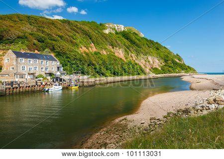 Axemouth Harbour Devon