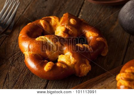 Cheesy German Soft Pretzels