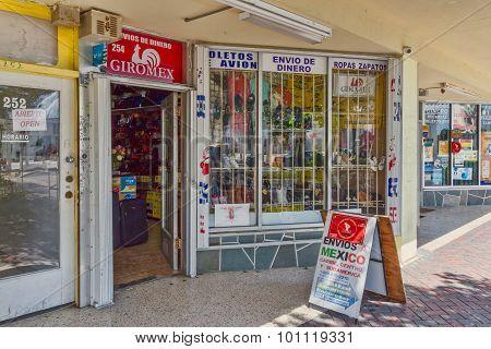 Hispanic storefront